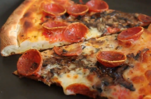 冷めたピザはフライパン