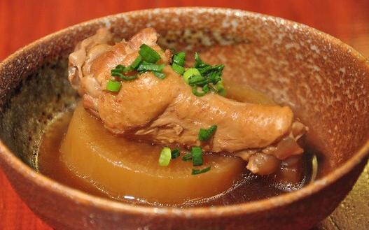 ポリ袋レシピ・チキン大根煮