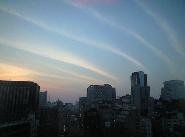 地震雲2週間前