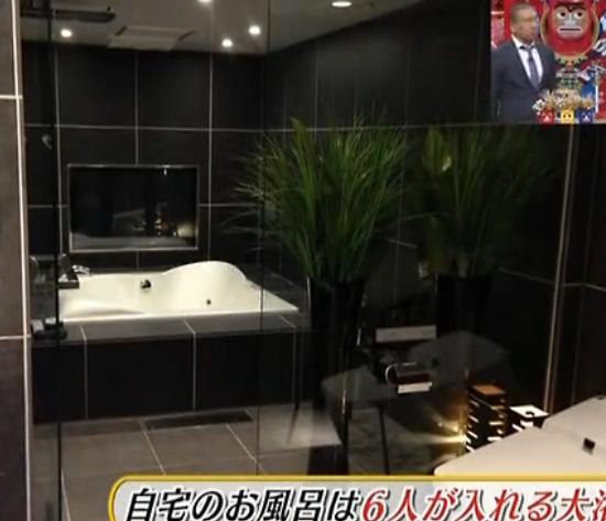 西川貴教の豪邸風呂