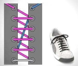 カッコイイ靴紐の通し方
