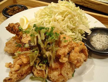 旅籠屋・鶏の唐揚げランチ