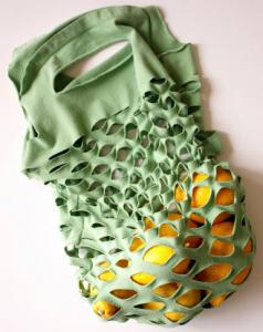 リサイクルTシャツエコバッグ