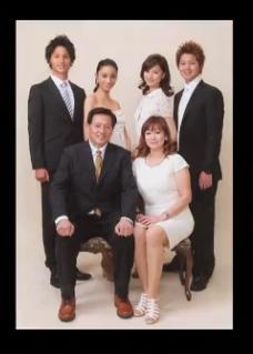 高橋メアリージュンの家族