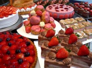 ムフタールドゥパリのケーキ
