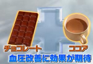 チョコレート健康効果
