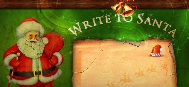 サンタクロースの住所と手紙