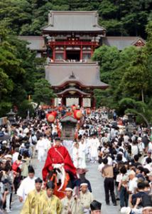 鶴岡八幡宮の秋祭り