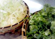 ざるもりネギ太陽のトマト麺