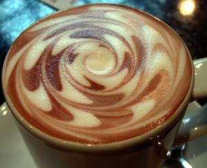 コーヒーアートチョコ