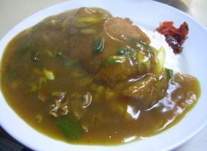 カツカレー皿盛レシピ