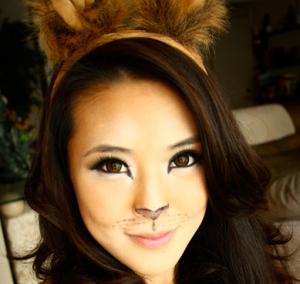 ハロウィンメイク猫