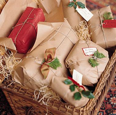 クリスマス包装やり方