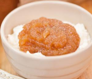 りんごバタースイーツレシピ