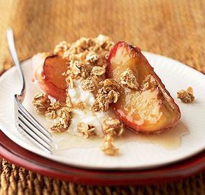 グラノーラ焼きりんごスイーツレシピ