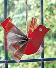 小鳥オーナメント作り方