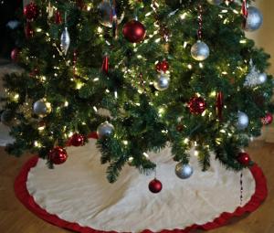 クリスマスツリースカート作り方