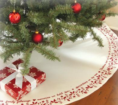 クリスマスツリースカート