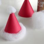 サンタの帽子作り方