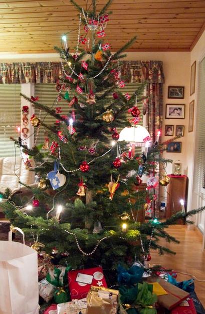 ヨーロッパクリスマスデコレーション方法