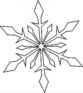 雪の結晶テンプレート