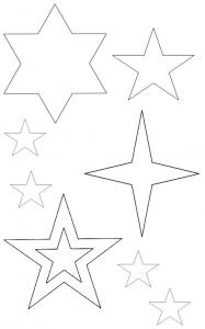 星のテンプレート