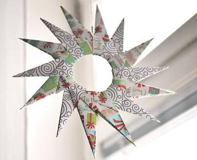 話題なうdeトレンドNOW   注目の ... : クリスマス壁飾り折り紙 : 折り紙