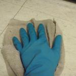 キッチン床掃除方法