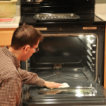 オーブン掃除方法