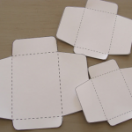 お年玉袋の型紙印刷