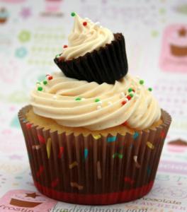 カップケーキデコレーション例