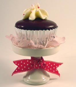 バレンタインチョコレート手作りカップケーキ