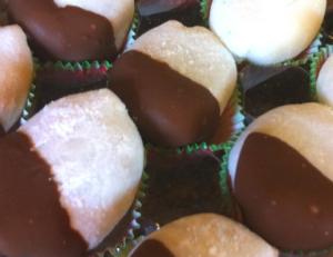 和菓子チョコディップ具材