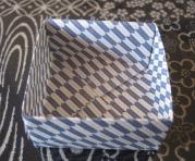 豆入れ箱折り紙方法