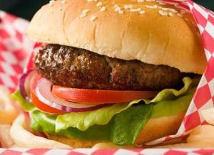ハンバーガーに挟む野菜の具