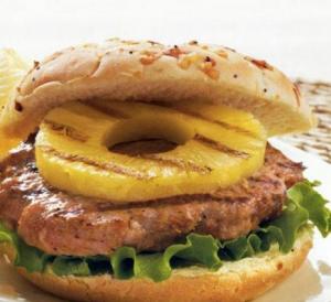 フルーツハンバーガーパイナップル