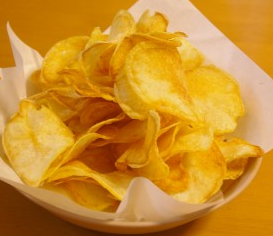 固揚げポテトチップスレシピ