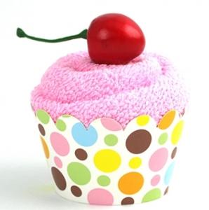 タオルカップケーキ作り方