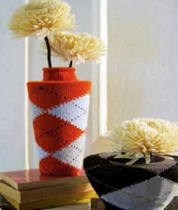 靴下リメイク花瓶作り方