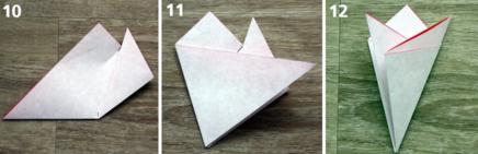 桜の作り方ペーパークラフト