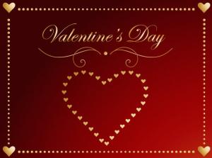 バレンタインメッセージカード英語フレーズ