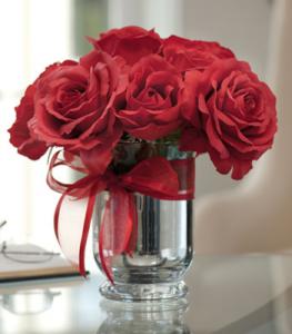 バラ簡単コップ飾り方