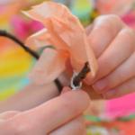 桜のペーパークラフト子供用