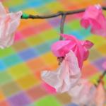 飾れる桜キッズクラフト