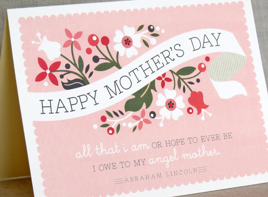 母の日メッセージカード英語例文