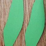 チューリップ葉作り方