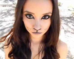 黒猫仮装やり方メイク髪型