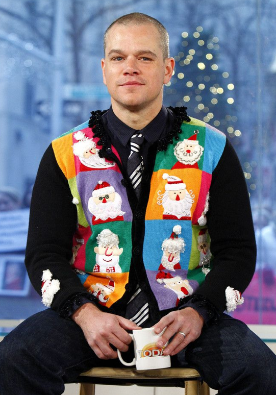 ダサいセーターコーデクリスマス