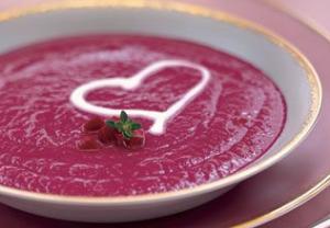 バレンタインスープハート